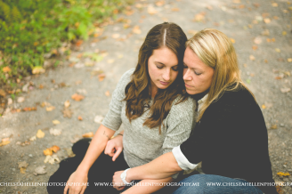 Crystal & Jenny's surprise proposal session