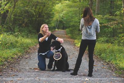 Crystal & Jenny surprise proposal session