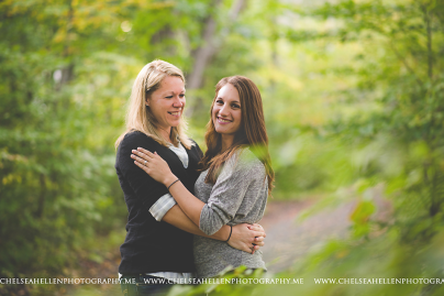 Crystal & Jenny surprise proposal session